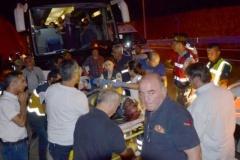 Gemlik Otobanında Kaza