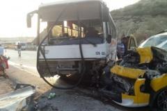 Gemsaz Yolunda Kaza 6 Yaralı
